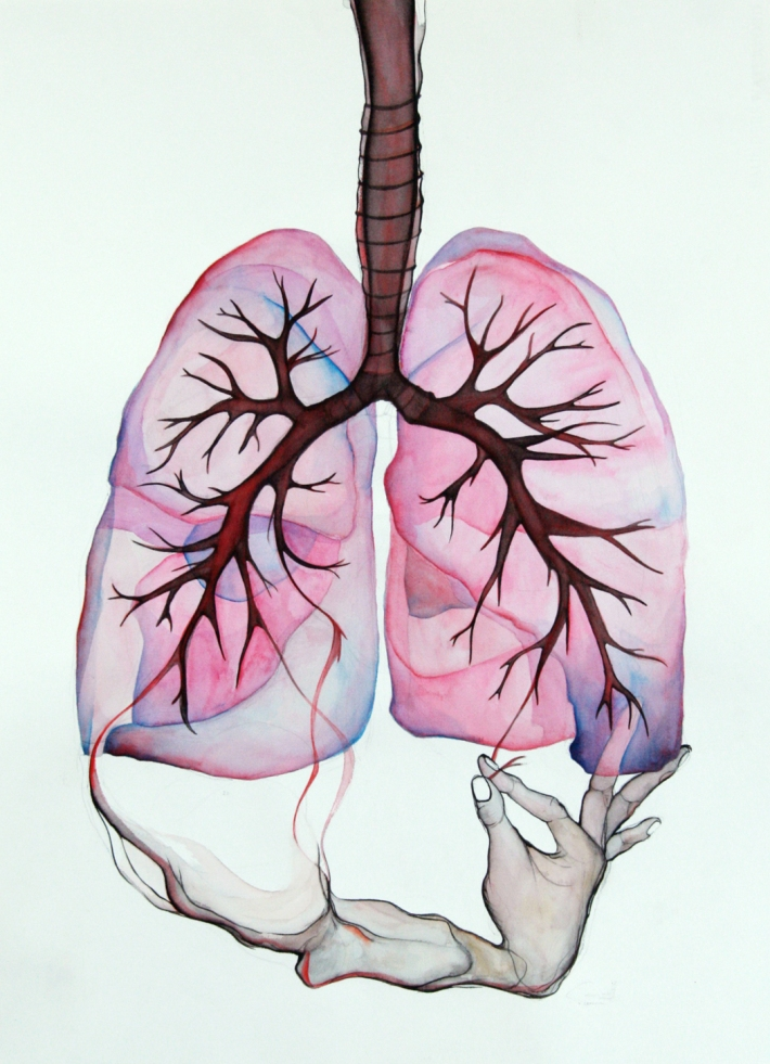 'Habitat' 2013 watercolour on paper approx. 60 x 90 cm